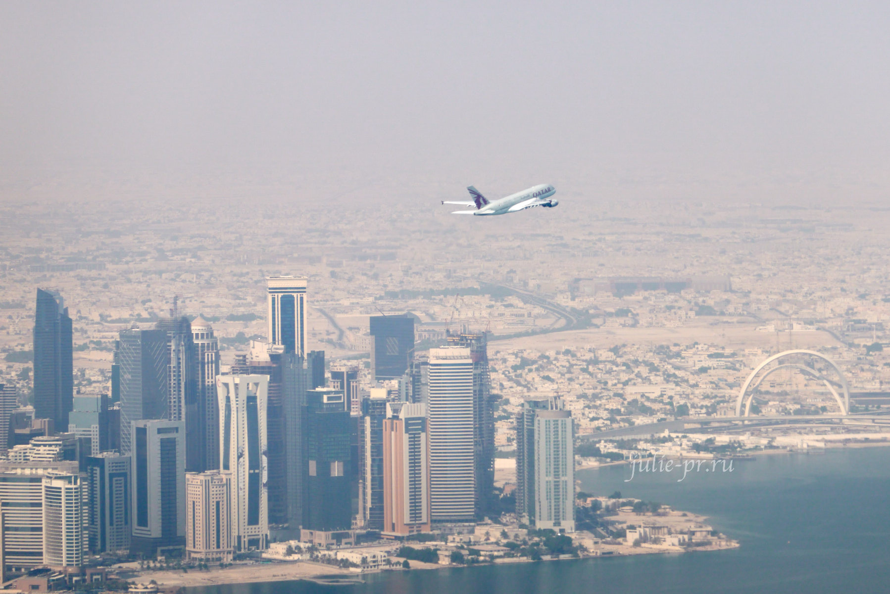 Катар, Доха, самолёт