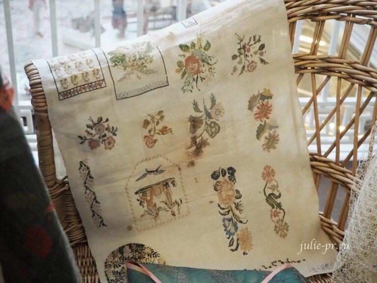 Российский этнографический музей, выставка шелковая тема, Санкт-Петербург, вышивка крестом, примитив