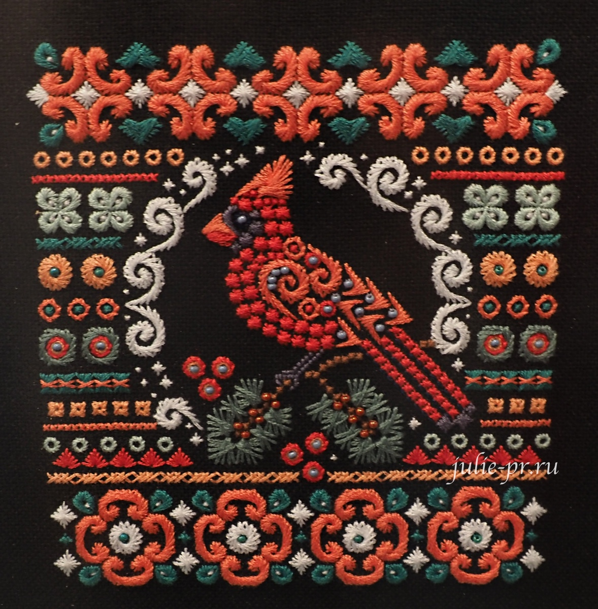 панна, формула рукоделия осень 2021, вышивка шовчиками, выставка
