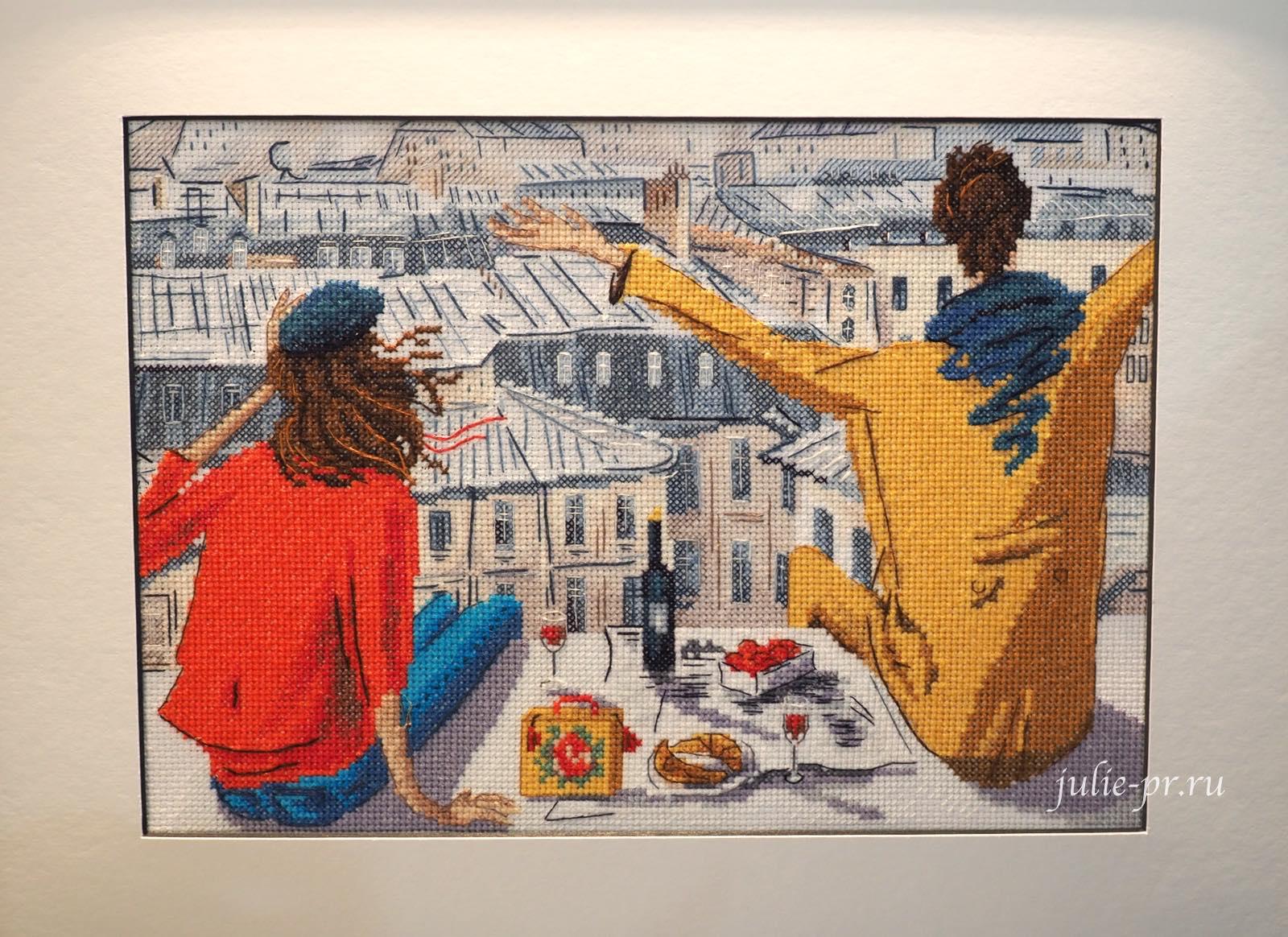 RTO, РТО, формула рукоделия осень 2021, вышивка крестом, выставка, Париж