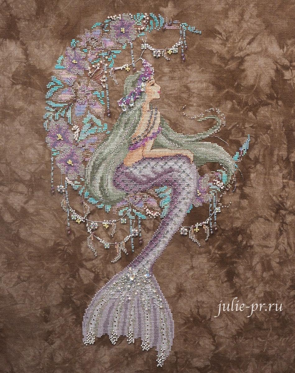 Bella filipina, русалка, вышивка крестом, формула рукоделия осень 2021, выставка