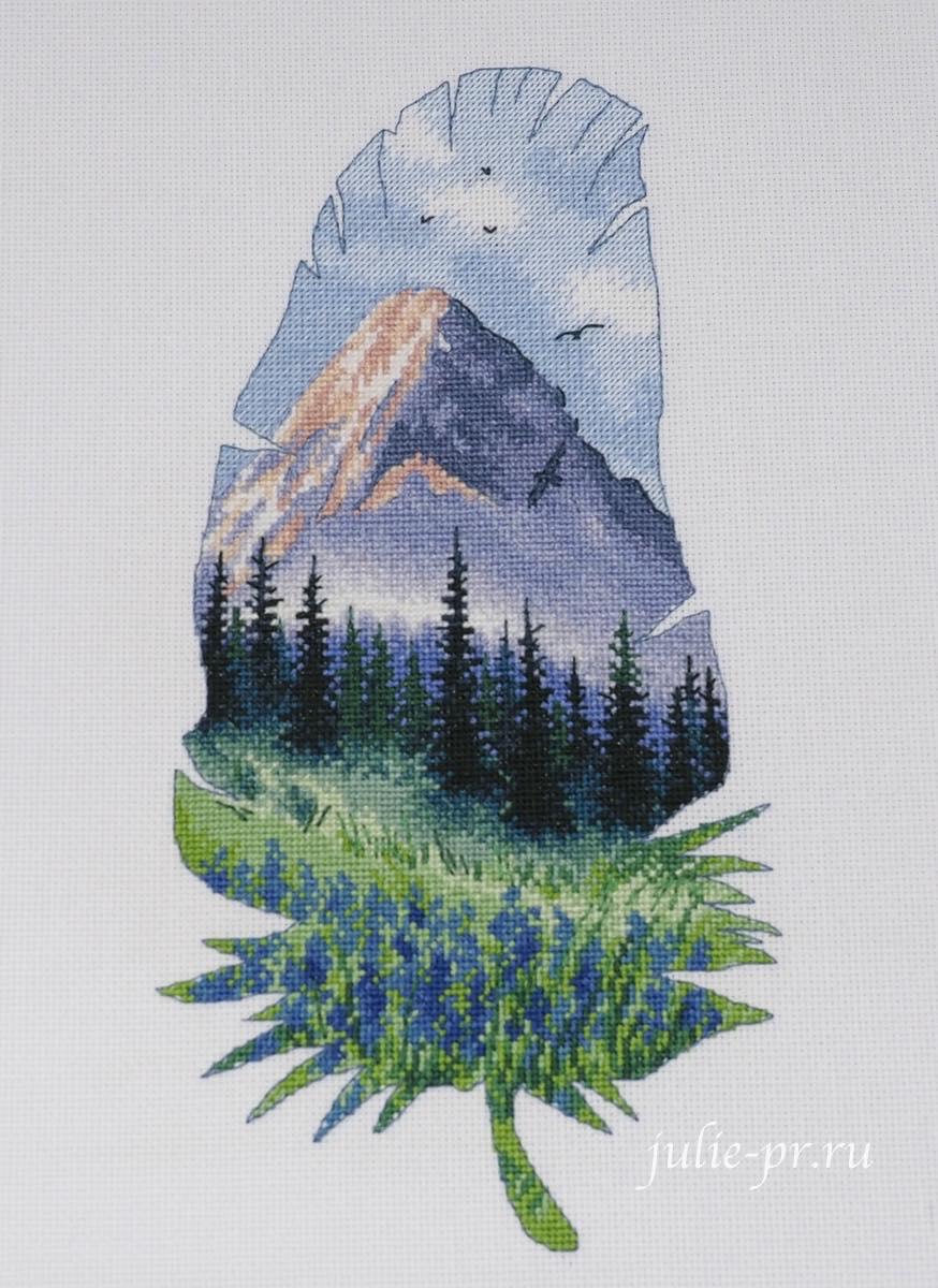 Овен, формула рукоделия осень 2021, вышивка крестом, выставка