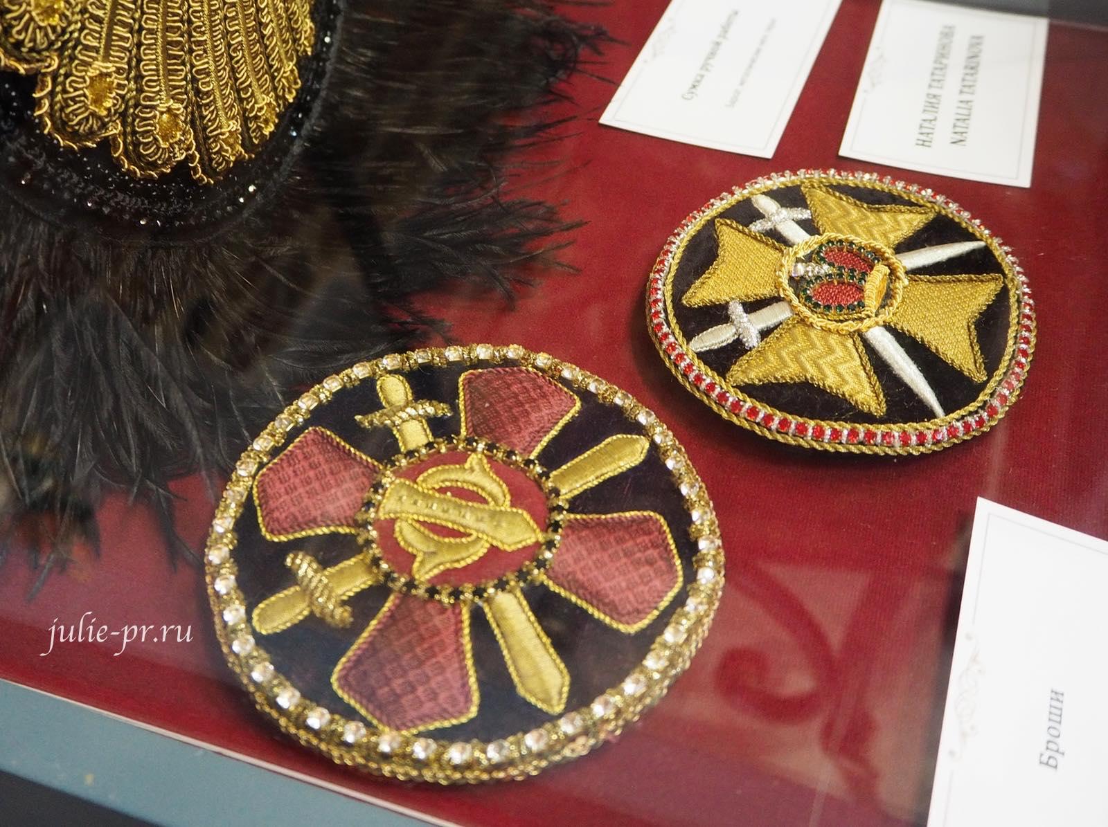 золотная вышивка, золотное шитье, Выставка Цветная матрица мечты, Музей Русский Левша, Санкт-Петербург